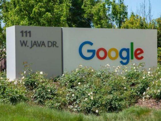 Logo Google a Mountain View